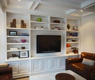 18 Fascinating Family Room Wall Units Photo Ideas