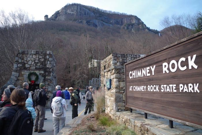 FIRST DAY HIKES, offered by North Carolina state parks, are FREE GUIDED HIKES on January 1, 2017.  What a perfect way to begin fulfilling your New Year resolutions with exercise and reconnecting with nature!  (Romantic Asheville photo) You might consider these parks for your hike: Chimney Rock Park Mt Mitchell State Park Grandfather Mountain  See this website for details and times:   www.ncparks.gov/north-carolina-first-day-hikes