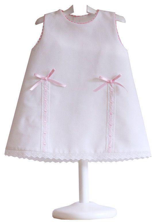 Vestido Piqué Bebé - demelocoton.com