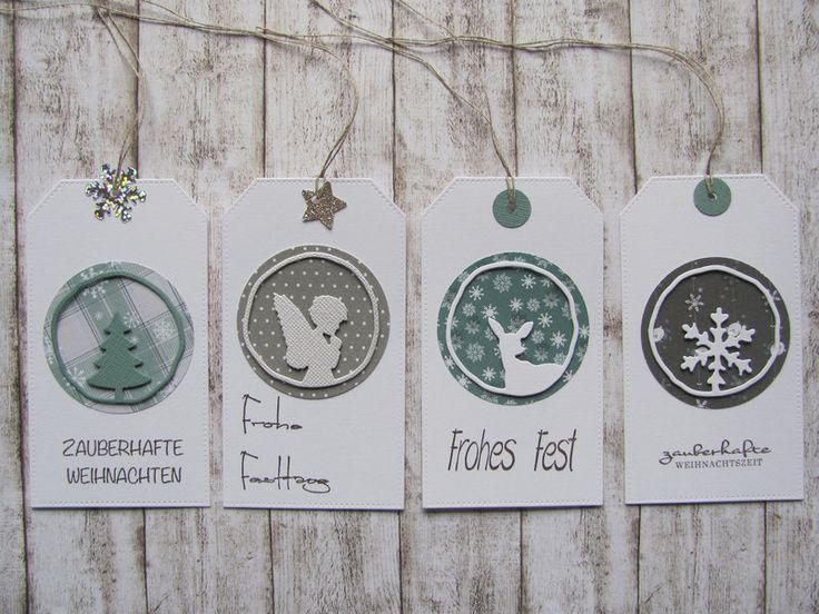 Weihnachten - Geschenkanhänger - ein Designerstück von Inifee bei DaWanda
