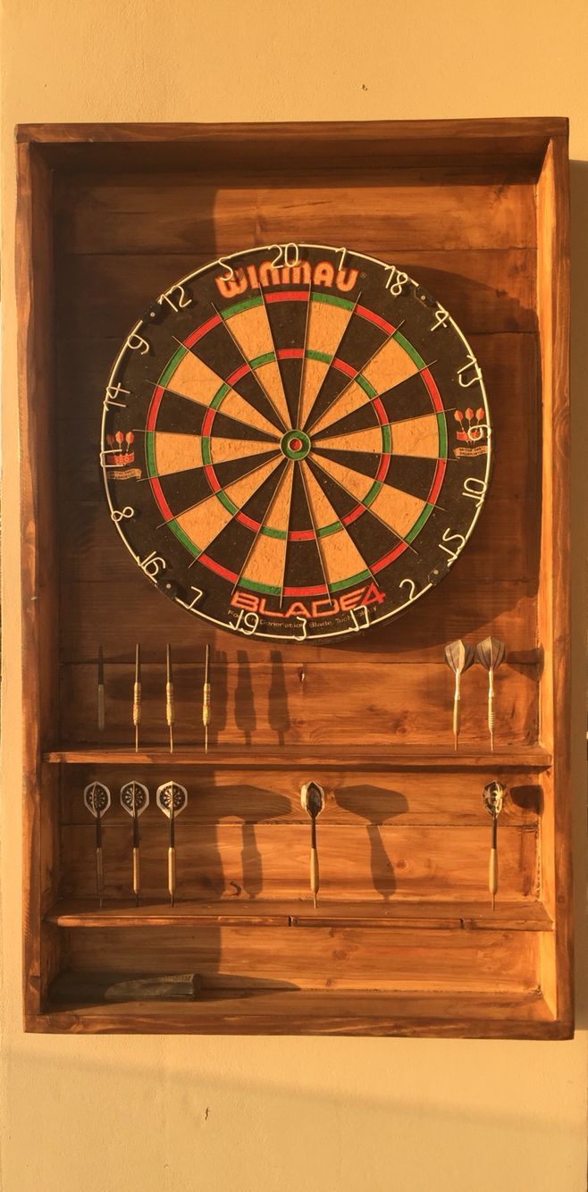 The 25 best modern darts and dartboards ideas on for Diy dartboard lighting