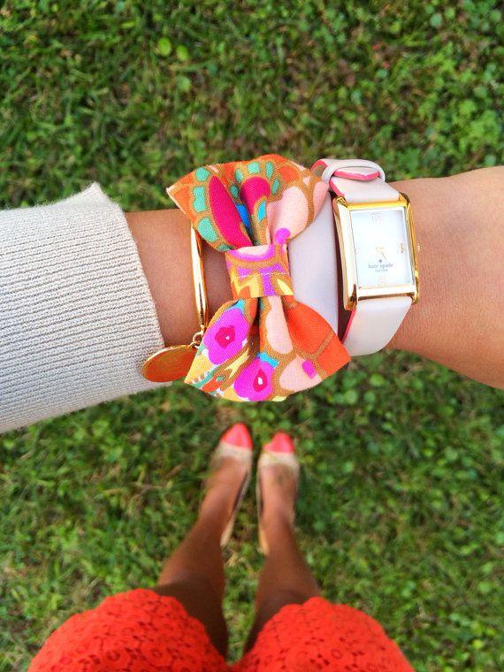 The 'Caicos' Bow Bracelet by kaitlinkendalldesign on Etsy