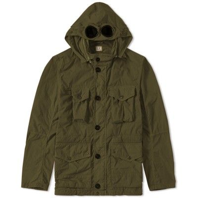 C.P. Company Four Pocket Goggle Jacket (Olive)
