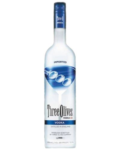 Vodka Premium Brand- 3 Olives Vodka