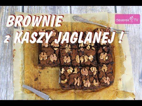 Ciasto Dietetyczne - Brownie z Kaszą Jaglaną przepis