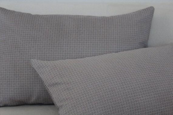 Set of 3, Decorative Grey Pillow Cover Set, Living Room, Bedroom on Etsy, $29.00