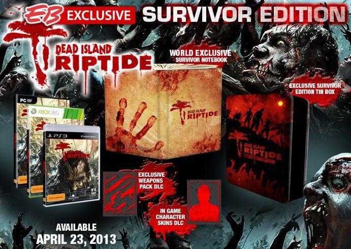 Dead Island Riptide - EAF Competition March/April - Enter Now !