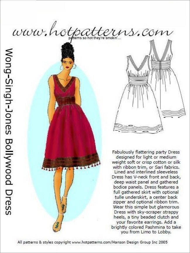PREORDER BEFORE JUNE 30.  HotPatterns.com - PRE ORDER HP 1156 Vintage WSJ Bollywood Dress, $13.55 (http://www.hotpatterns.com/hp-1156-vintage-wsj-bollywood-dress/)
