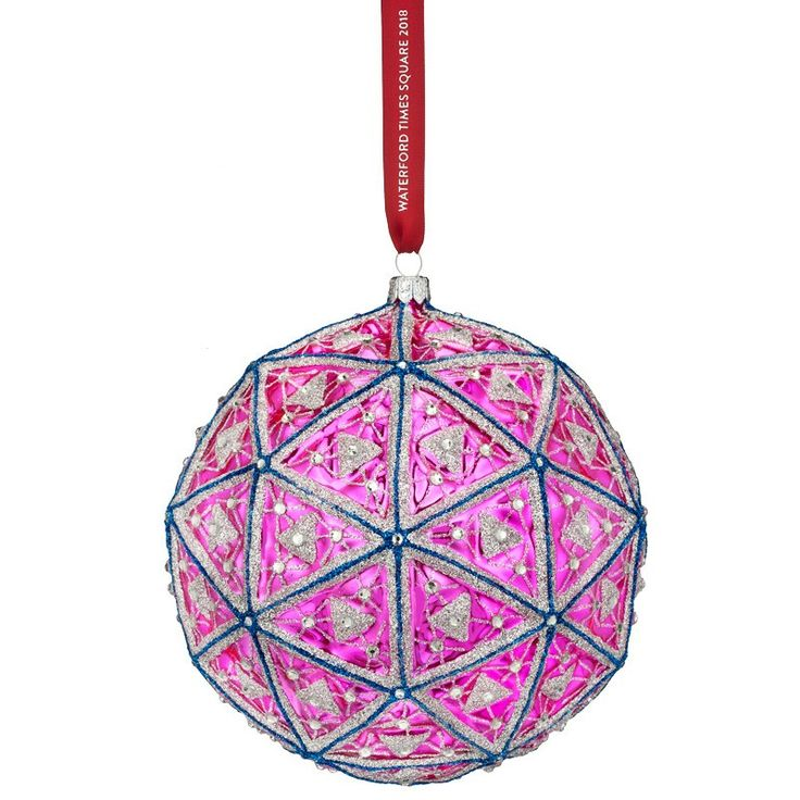 Waterford 2018 Times Square Replica Ball