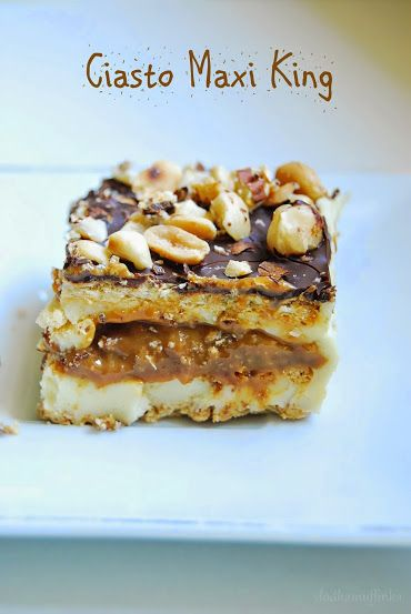 Ciasto Maxi King- bez pieczenia | słodkamuffinka