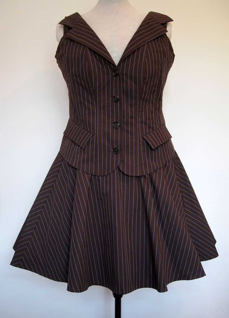 Frockasaurus Alternative Clothing, Femme 10th Doctor Who costume - I just have the...