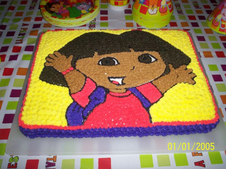 22 best images about Dora the Explorer Cakes on Pinterest ...