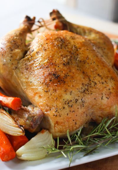 Easy Roast Chicken! The perfect meal and leftovers? Oh ya!