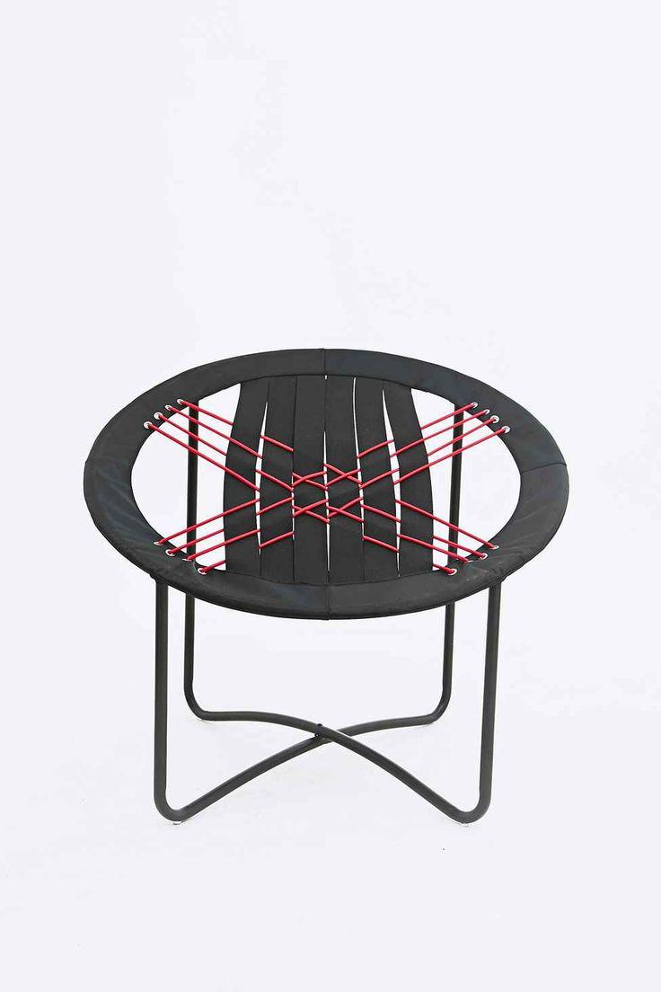 Bungee chair purple - Kare Bungee Chair In Black