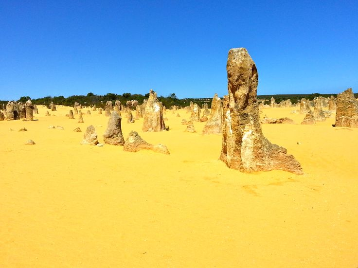 The Pinnacles in Nambung National Park, close enough to Perth for a day trip