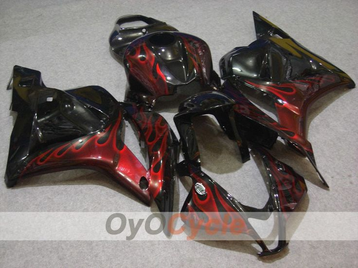 Injection Fairing kit for 0912 CBR600RR Red, Black