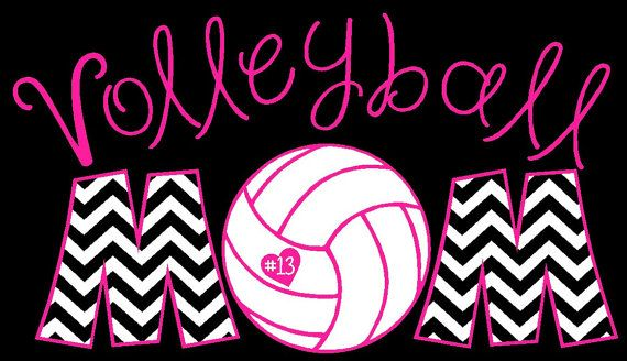 Volleyball t-shirt and hoodie design idea. Re-create for any high school sports, athletics, and clubs.
