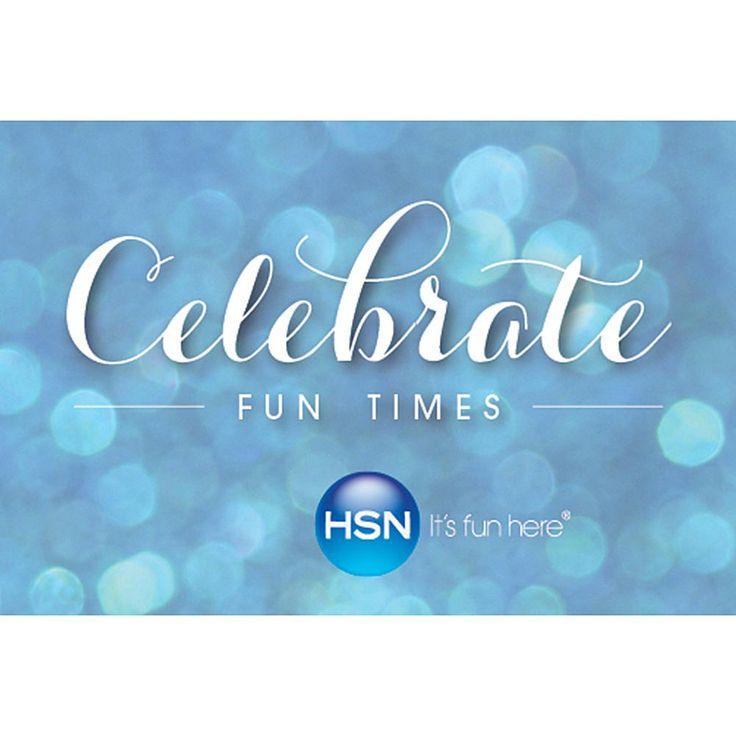 Celebrate Fun Times $25.00 HSN Gift Card