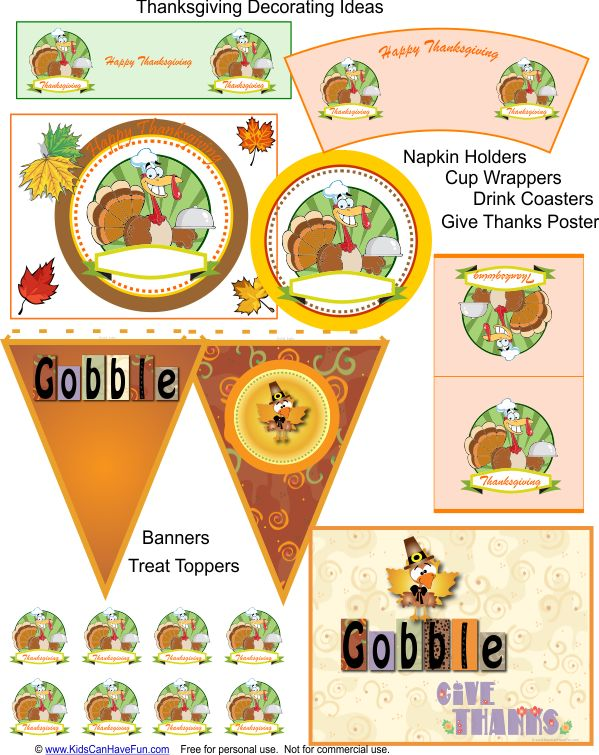 Thanksgiving Table Decorating Ideas That The Kids Can Help With