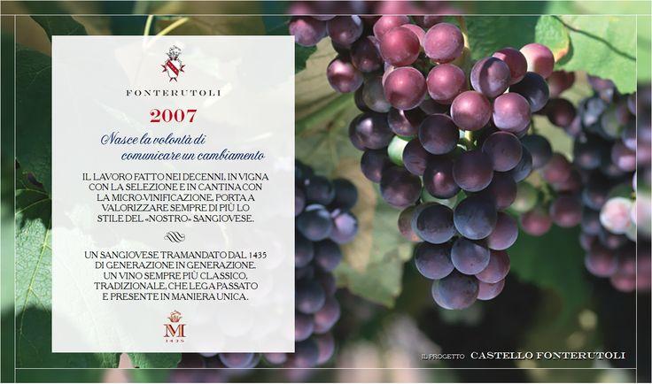 La tradizione del Sangiovese classico tramandato dal 1435 trova ora la perfetta fusione tra passato e presente. @marchesimazzei #fonterutoli #marchesimazzei #wine #tuscany
