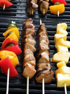 Vittles and Bits: Teriyaki Chicken Marinade (for Kebabs)