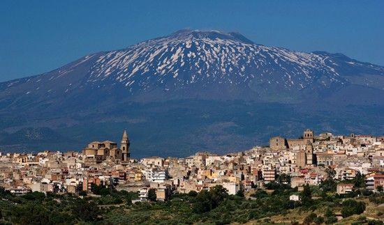 italie-sicile-volcan Etna