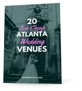 20 cheap atlanta wedding venues