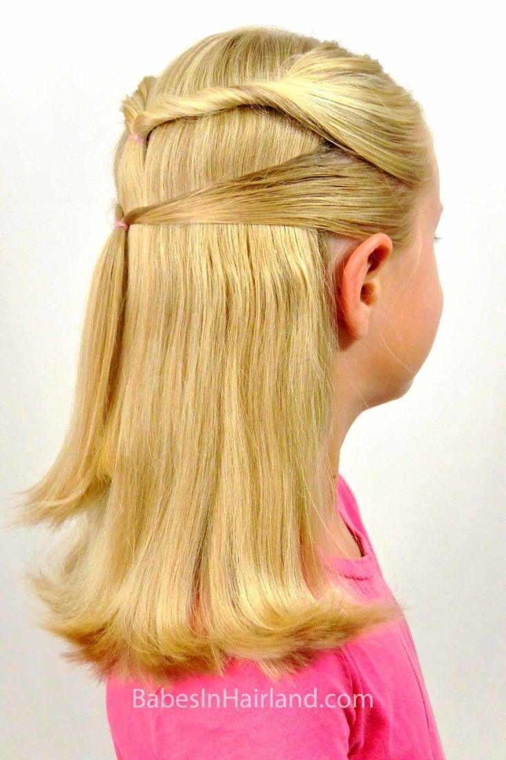 Coiffure de rentrée scolaire rapide et facile - #coiffure #facile #rapide #rentree #scolaire -