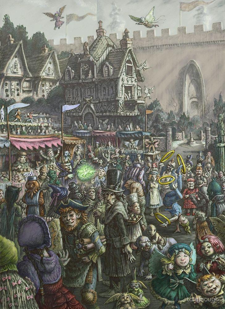 """Fitzenrose Market"" by tonyhough   Redbubble"