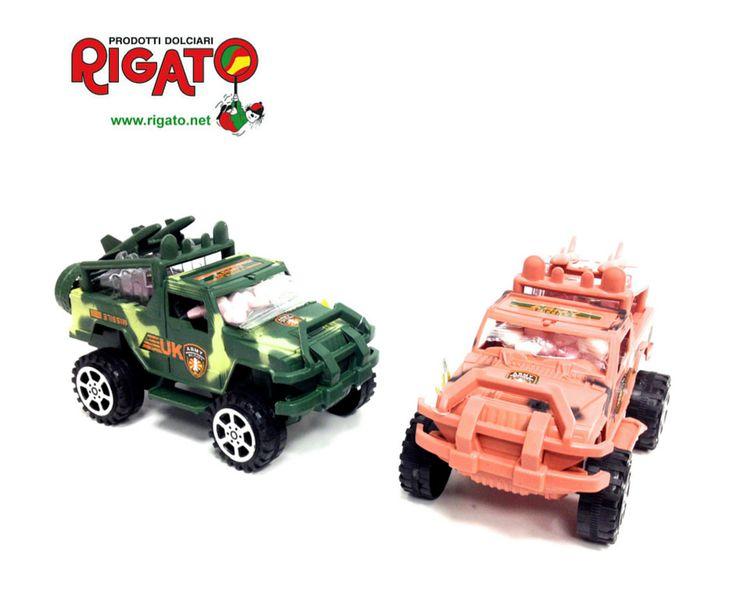 Per una #estate sulla Sabbia Calda è arrivata la nuovissima #jeep #fuoristrada #military con #caramelle #popkidz ...