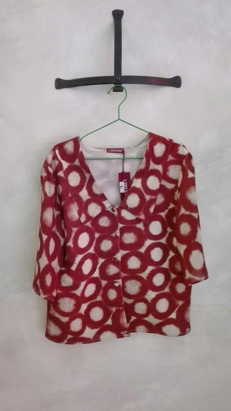 Camicia in pura seta, fatta a mano #handmade