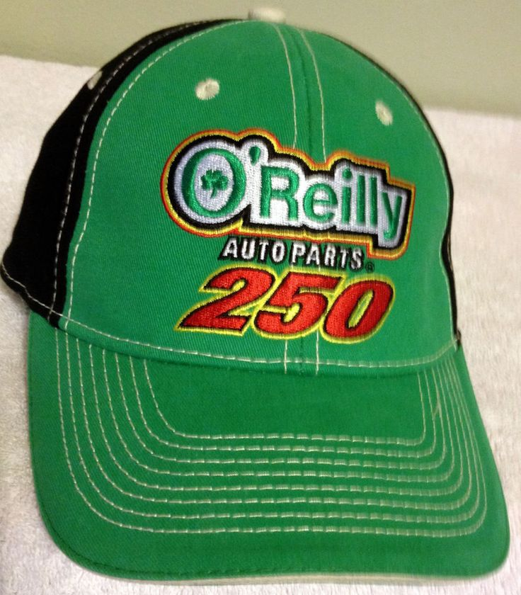 VINTAGE 2010 OREILLY AUTO PARTS 250 ADULT ADJUSTABLE CAP KANSAS MOTOR SPEEDWAY #OREILLYS