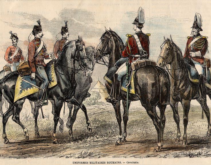Romanian Cavalry.19c