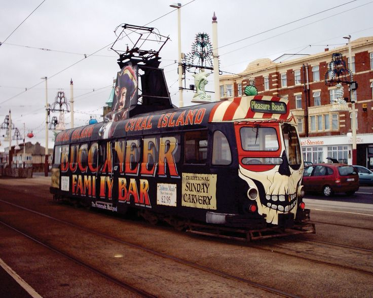 A typical Blackpool Tram. #blackpool #tram