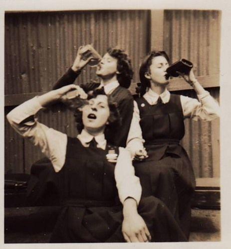 my kind of ladies...