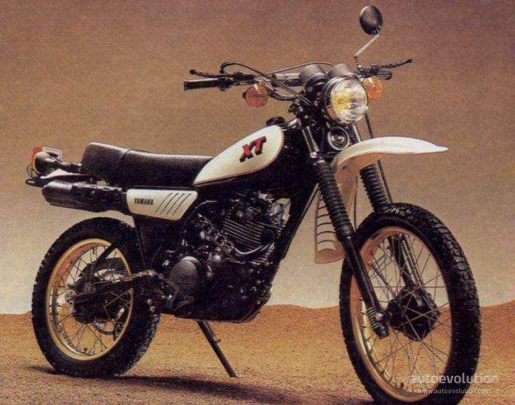 YAMAHA XT 250 (1980 - 1983)