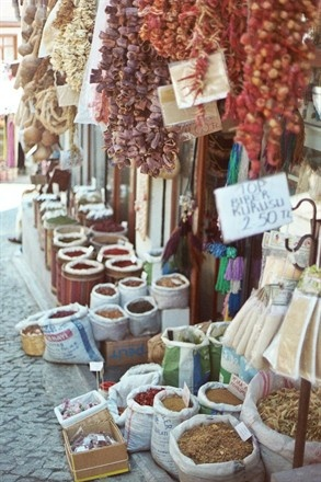 Spice markets in Ankara, Turkey - one of the most beautiful marketplaces I have ever been able to stroll through