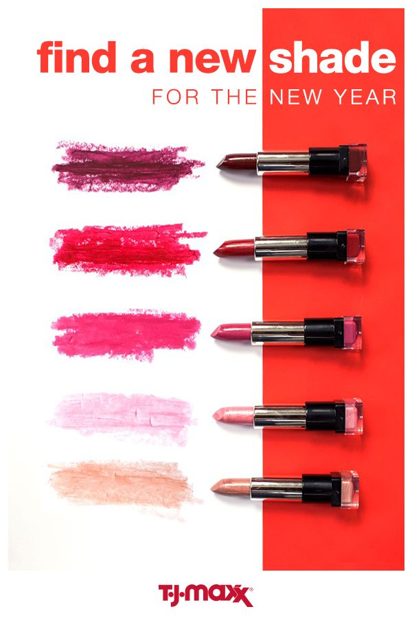 Get an instant boost of confidence when you make small beauty changes with a big impact. Reinventing your look can be as simple as choosing a new shade of lipstick. So what this year's hue going to be? A matte magenta or a ruby red pout? Find everything you need to ramp up your beauty routine in 2017.