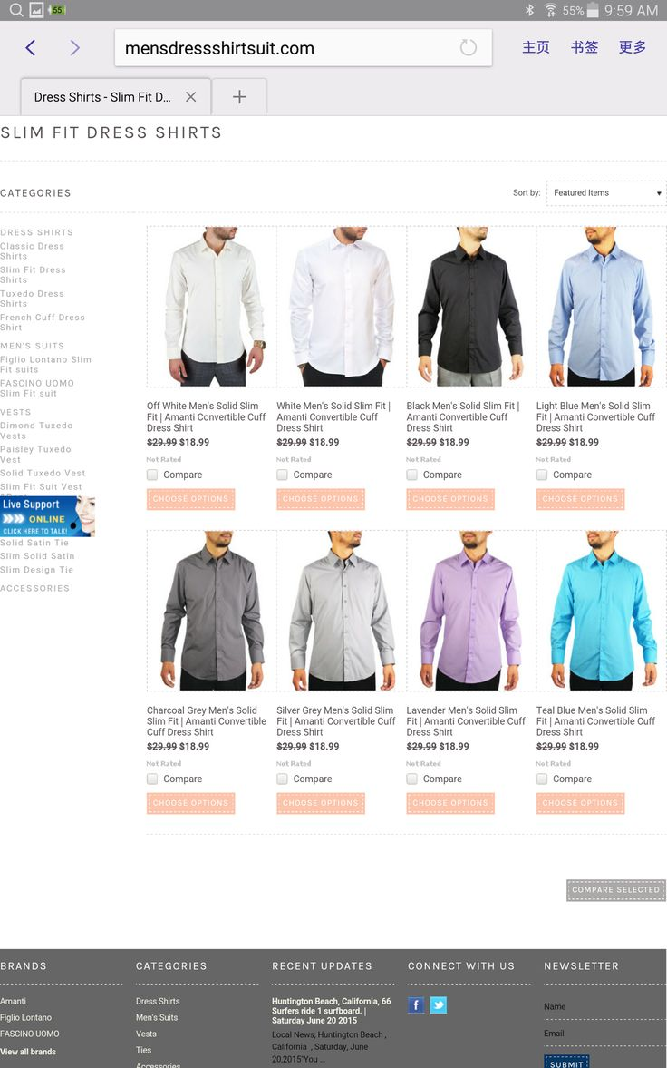 Autumn saving - $18.99 slim fit dress shirt http://mensdressshirtsuit.com/dress-shirts/slim-fit-dress-shirts/ …