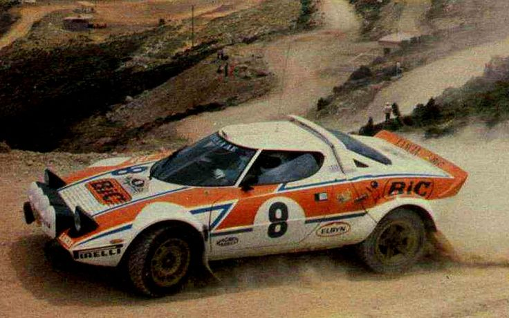 1978 Acropolis Rally (Siroco - Makrinos Manólis)Lancia Stratos HF