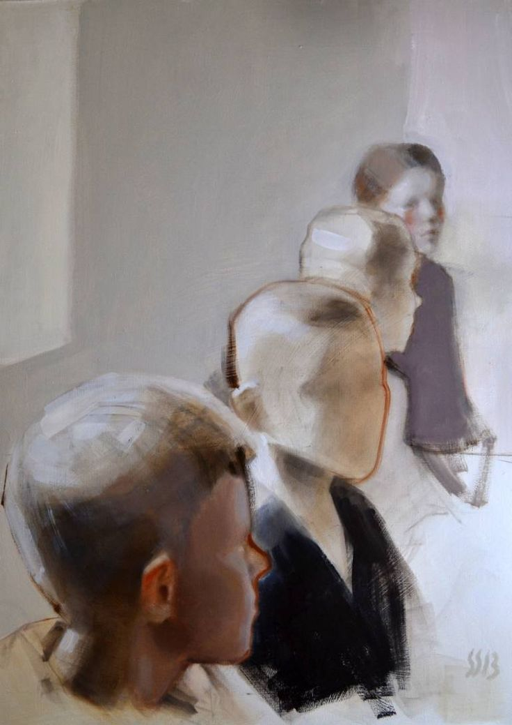 """Saatchi Art Artist Silja Selonen; Painting, """"siirto 4 (sold)"""" #art"""