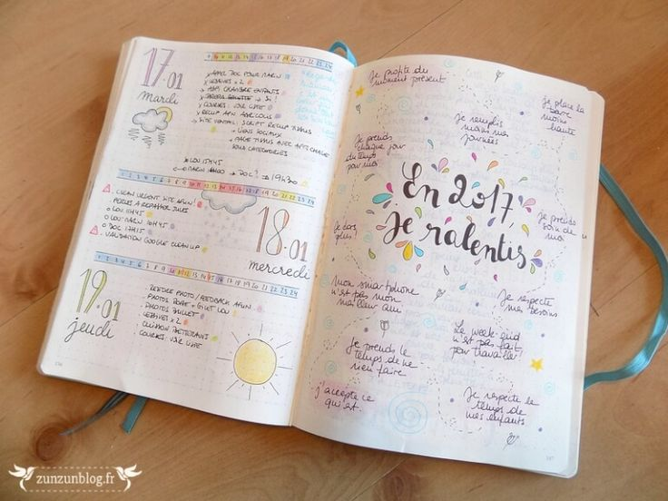Bullet Journal 2017 collection and dailys