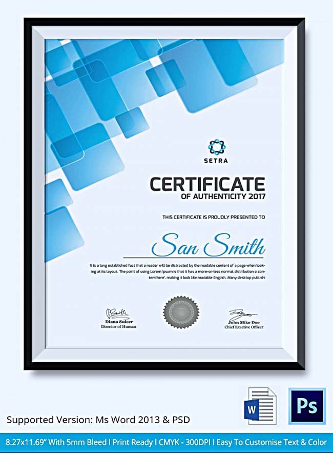 , Certificate of Authenticity Template: What Information to Include? , Certificate of Authenticity template is likely to be a guarantee for your original art collections. It protects your valuable collections from the imitation products.