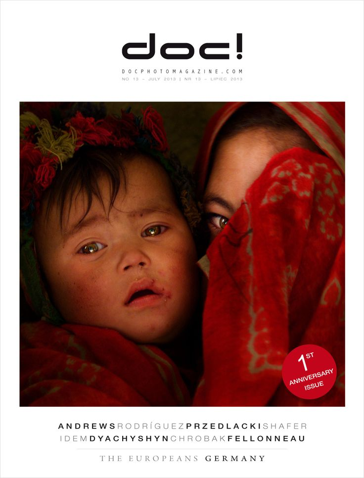 Cover of doc! photo magazine #13 Cover photo: Piotr Andrews