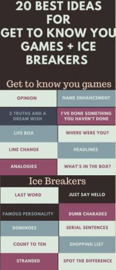 Twenty+Best+ideas+for+Get+to+know+you+Games+and+Ice+Breakers+at+Work