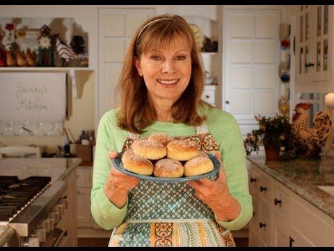 ▶ Pączki (Polish Jelly Donuts) Oven-Baked Doughnuts - YouTube
