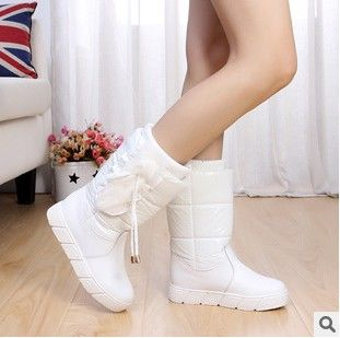 Barato 2014 novo inverno botas de neve das crianças meninas único botas impermeáveis menina algodão acolchoado calçados impermeáveis 786 sapatos de couro pu, Compro Qualidade Sapatos de Couro - Meninas diretamente de fornecedores da China: