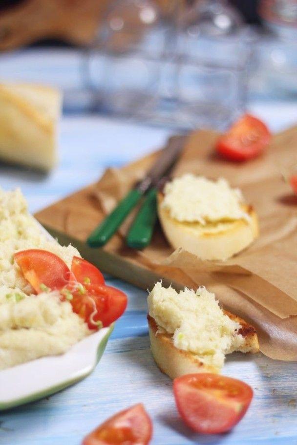 Brandada. Pasta z dorsza na grzanki