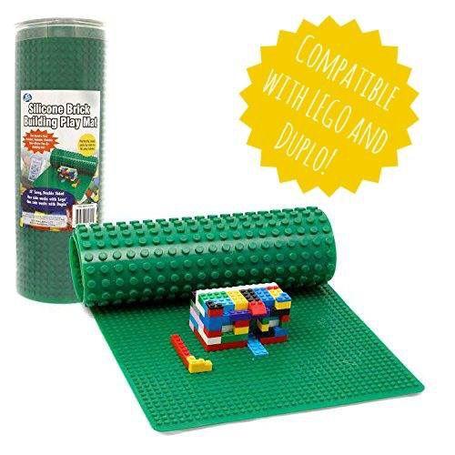 Lego adaptable silicone play mat