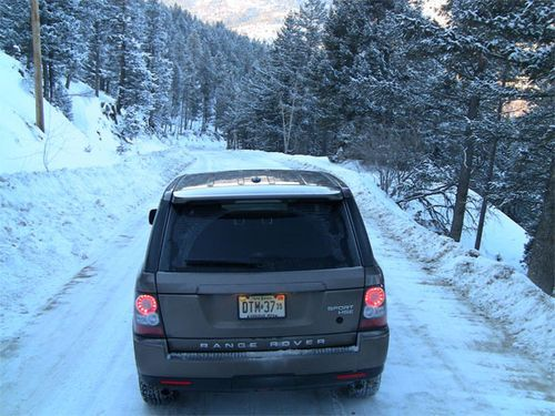 #2010 #Range #Rover #Sport ice and snow off-road video test vs. Lick Skillet road by #tflcar